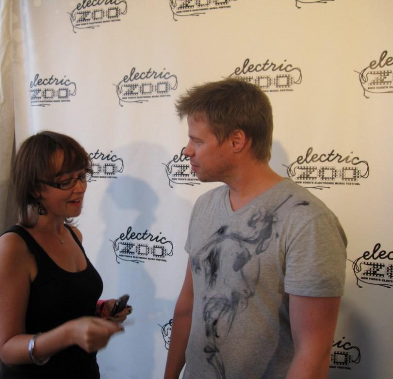 Marcie interviews Ferry Corsten